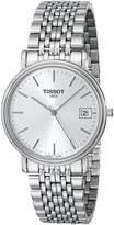 Tissot Men's T52148131 T-Classic Desire White Dial Watch