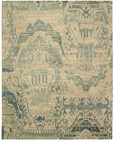 "Nourison Dune Rug - Oversized Ikat Pattern, 9'9"" x 13'9"""
