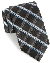 Nordstrom Men's Club Grid Silk Tie