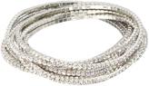 Love Rocks Aurora Borealis Crystal Stretch Bracelet Set
