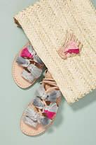 Minda Living x Anthropologie Tasseled Gladiator Sandals