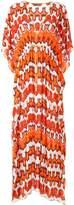 Missoni geometric-print kaftan dress