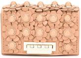 Zac Posen Earthette Embellished Clutch Bag - women - Calf Leather - One Size