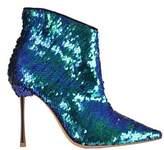 Sophia Webster Women's Blue Sequins Heels.