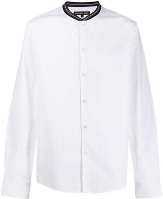 Michael Kors Striped Collar Shirt