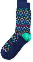 Paul Smith Acid Block Diamond-Pattern Socks