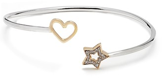Kaizarin Open Heart & Star Bangle
