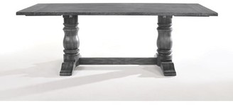 Ophelia & Co. Kelsie Double Pedestal Dining Table & Co.
