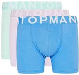 Topman Three-Pack Assorted Trunks