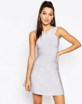 Asos SCULPT Premium Bandage Mini Swing Dress