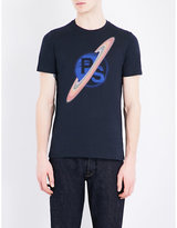 Ps By Paul Smith Saturn Cotton-jersey T-shirt