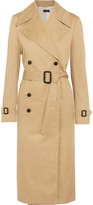Joseph Townie Double-breasted Cotton Trench Coat - Beige