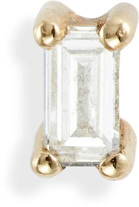 Jennie Kwon Designs Diamond Baguette Stud Earring