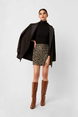 French Connection Eero Sequin Mini Skirt