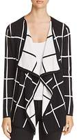 Foxcroft Reversible Windowpane Cardigan