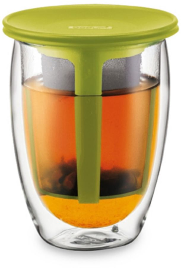 Bodum Tea for One Personal Infuser in Green
