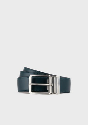 Giorgio Armani Smooth Leather Belt