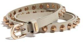 GUESS Studded Skinny Belt