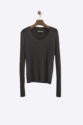 3.1 Phillip Lim Exclusive: Cashmere Double Scoop neck Sweater