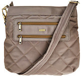 Travelon Anti-Theft Quilted Two Zip Crossbody Bag with RFID