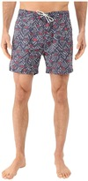 Scotch & Soda All Over Printed Swim Shorts in Fine Peached Quality