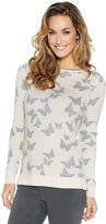 M&Co Butterfly jacquard jumper