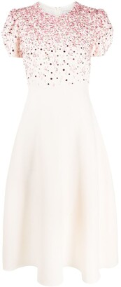 Valentino Beaded Mid-Length Dress