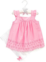 First Impressions Baby Set, Baby Girls Eyelet Tunic and Leggings