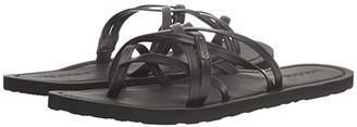 Volcom Strap Happy Sandals (Black Out) Women's Sandals