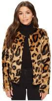 Romeo & Juliet Couture Faux-Fur Jacket