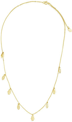 Sterling Forever 14K Over Silver Pendant Necklace