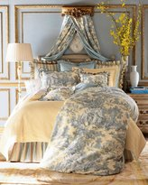 Legacy Queen Lutece Cypress Toile Duvet Cover