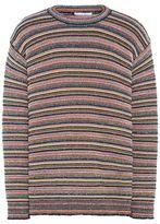Stella McCartney multicolour stripes crew neck jumper