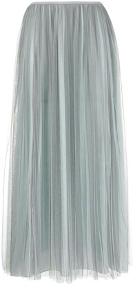 Emporio Armani Pleated Tulle Skirt