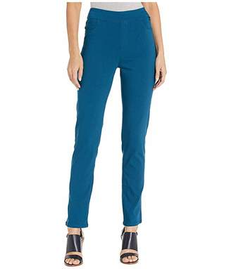 FDJ French Dressing Jeans Stretch Bengaline Pull-On Slim Leg in Tealblue