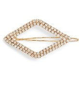 Tasha Diamond Shape Crystal Barrette