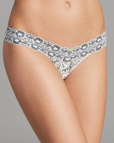 Hanky Panky Thong - Cross-Dyed Signature Lace Low-Rise #591054