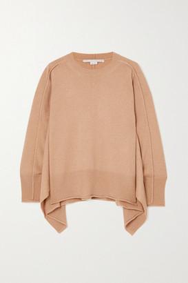 Stella McCartney + Net Sustain Cashmere And Wool-blend Sweater - Beige