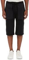 Public School Men's Inside-Out Cotton Terry Shorts-BLACK
