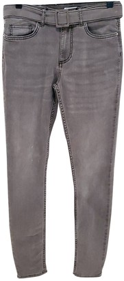 Claudie Pierlot Fall Winter 2019 Grey Cotton - elasthane Jeans for Women