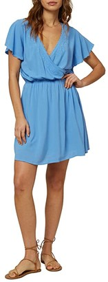 O'Neill Nolita Dress (Silver Lake Blue) Women's Clothing