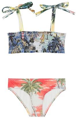 Zimmermann Kids Juliette floral bikini
