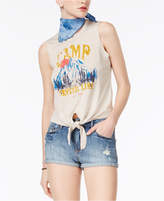 American Rag Juniors' Camp Graphic Tank Top, Created for Macy's