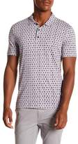 Perry Ellis Dotted Cotton Polo Shirt