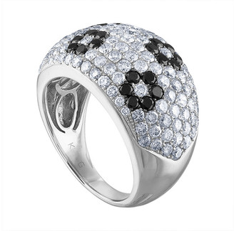 Heritage 18K 2.80 Ct. Tw. Diamond Flower Ring