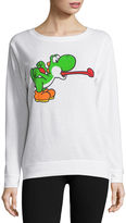 Fifth Sun Super Mario Brushed Fleece Sweatshirt- Juniors