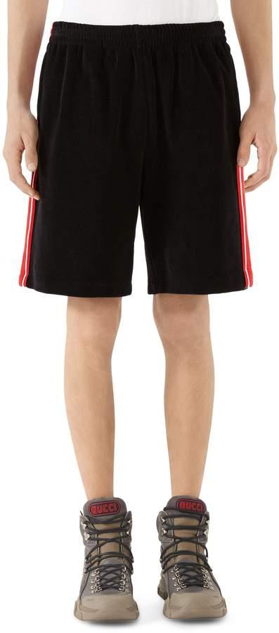 Gucci Chenille Jersey Shorts