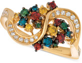 LeVian Le Vian Exotics® Colorful Diamond Ring (5/8 ct. t.w.) in 14k Gold
