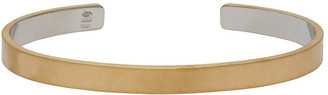 Maison Margiela Gold Bangle Bracelet