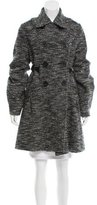 Zero Maria Cornejo Wool Double-Breasted Coat